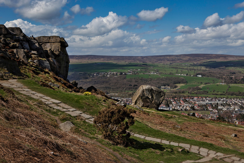 Cow & Calf Rocks, Ilkley.