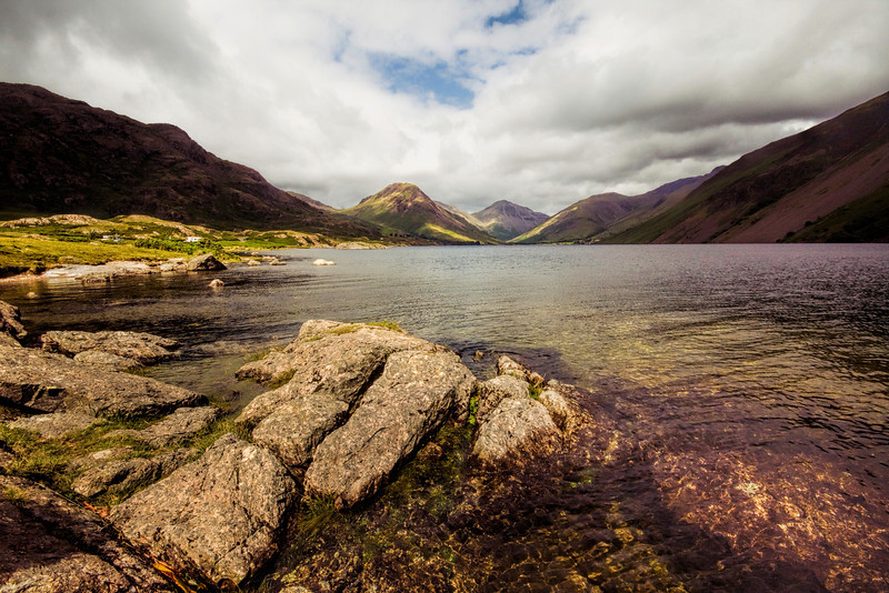 Lake Wastwater in the Lake District.