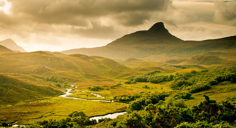 Lonley Mountain, Scotland