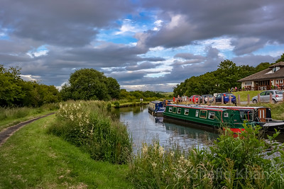 Along the Leeds to Liverpool Canal Near Riley Green