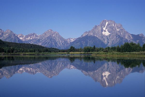 Mt Moran Reflection