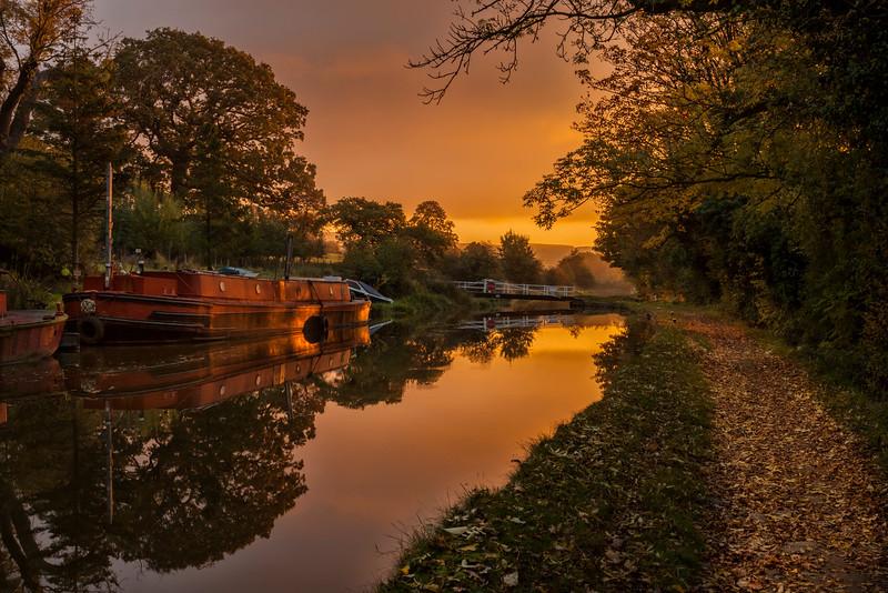 Sunrise at Kildwick