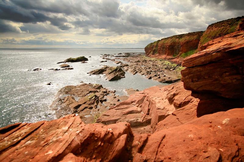 Arborath Cliffs, Scotland