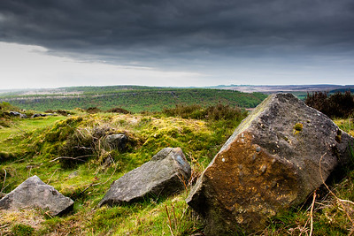 Rocks at Baslow Edge, Derbyshire