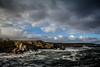 Rocks at Portsoy, Aberdeenshire, Scotland.