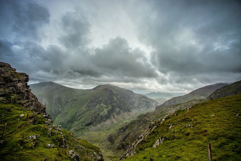 View from the Snowdon Mountain Railway