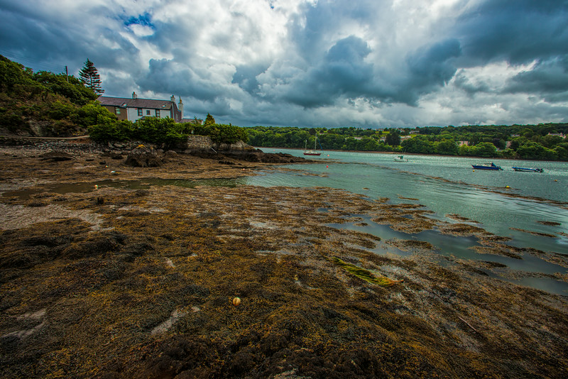 Menai Straights from Anglesey