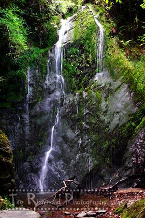 Dhoon Glen Waterfall, Isle of Man