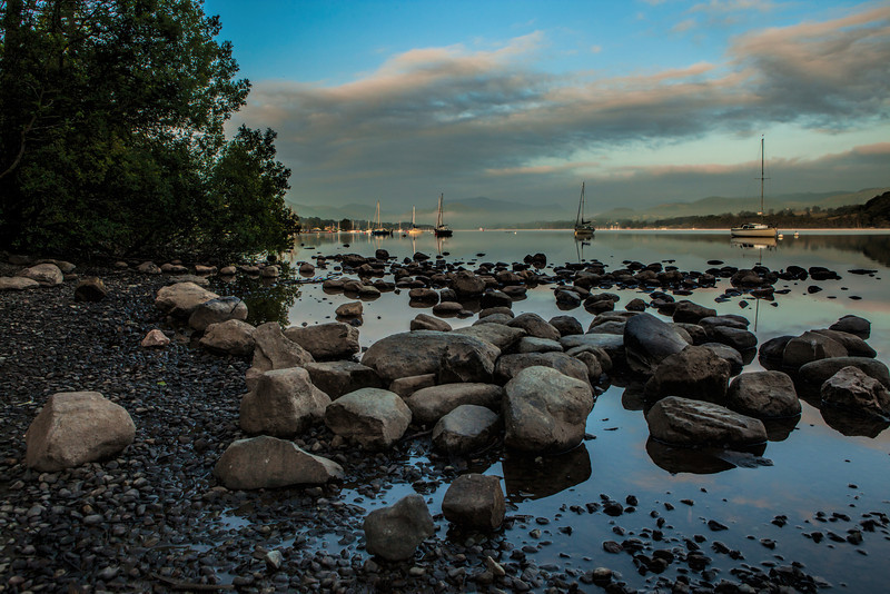 Lake Ullswater from Pooley Bridge.