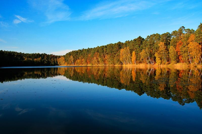 Rydzek Głęboki Lake, Poland