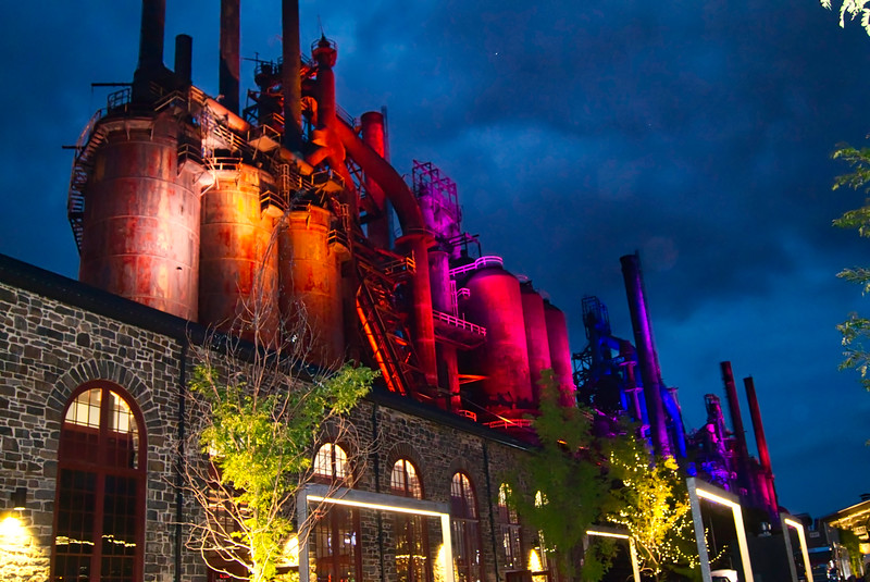 Steel stacks Lighting