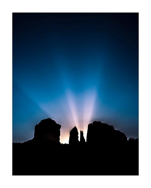 Sunrise at Cathedral Rock, Sedona, AZ