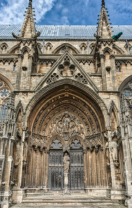 Lincoln Cathedral Side Entrance