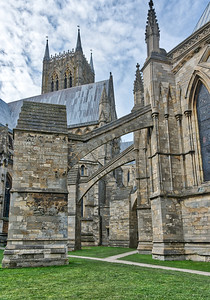 Lincoln Cathedral Archways