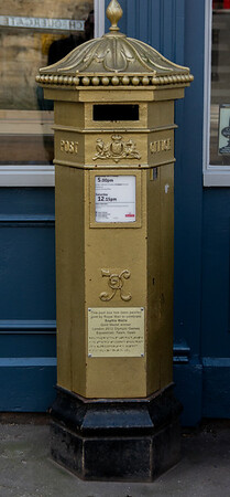 Lincoln City Gold Postbox