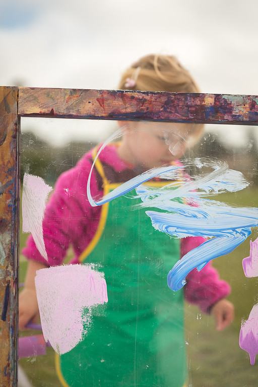 Messy Art in the Park with LittleLane