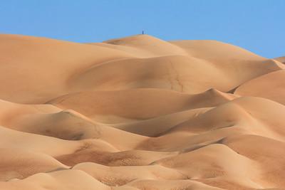 Liwa desert view