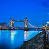 Tower Bridge during the blue hour