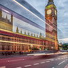 Big Ben Light Trails