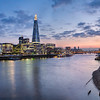London - View over the Thames