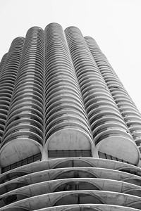 A concrete corn cob