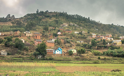 Houses in the Mountain