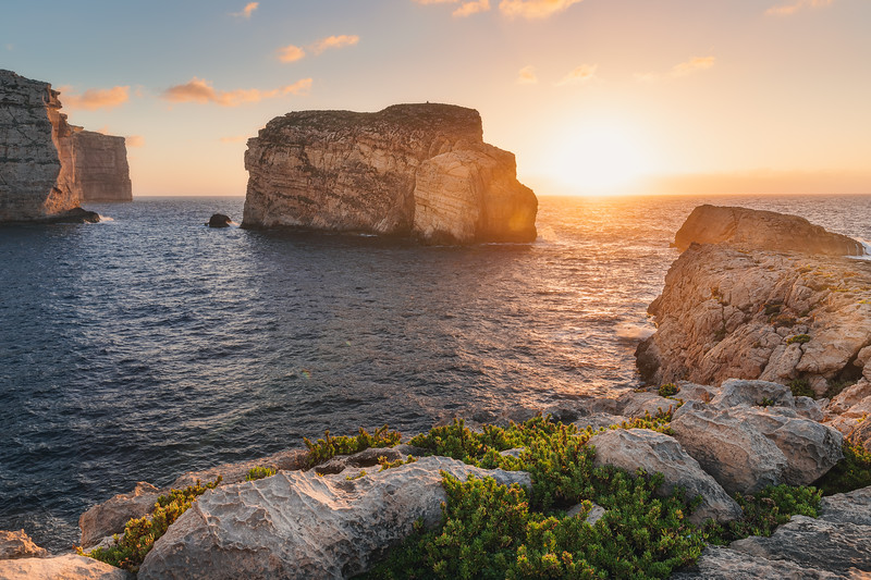 Sunset Fungus Rock Gozo