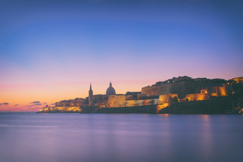 Valletta sunrise