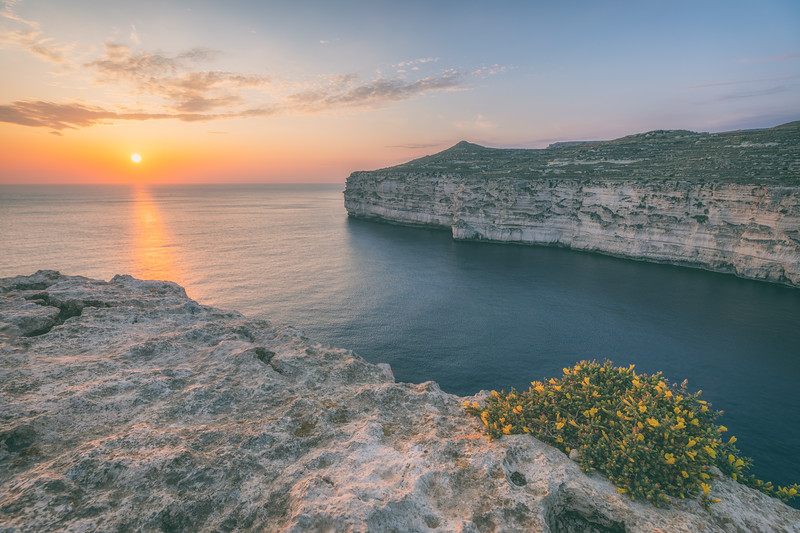 Sunset Imtahleb Cliffs