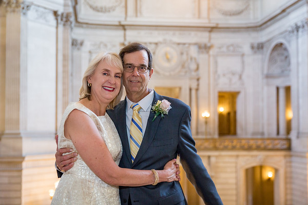 Margaret & Scott at City Hall