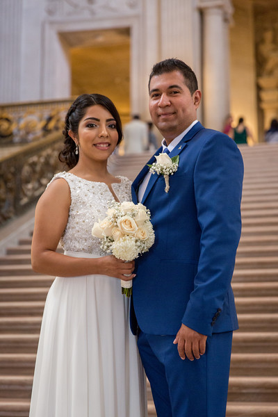 Mayte City Hall Wedding
