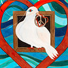 Peace dove love