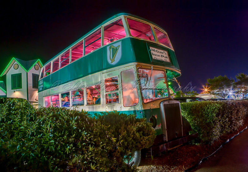 McGuire's Irish Pub Bus