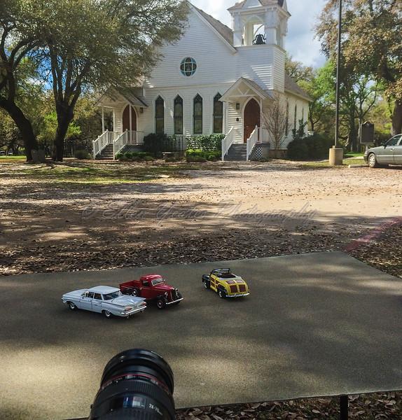 Behind the Scene - Visiting Methodist Church