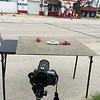 Behind the Scene -Vintage Gas Station