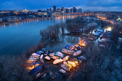 St. Paul Blue Hour