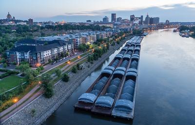 Barges (Landscape)