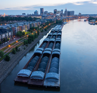 Barges (Portrait)