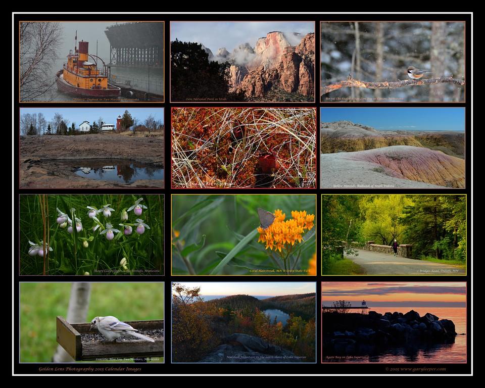 2015 Calendar Images