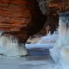 Sea Cave Ice