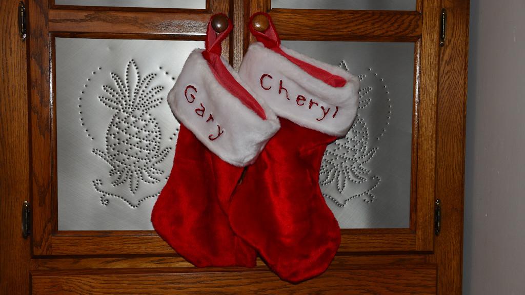 Gary & Cheryl Xmas Stockings
