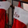 Lisa's xmas stocking.