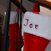 Joe's xmas stocking.