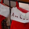 Amber's  xmas stocking.