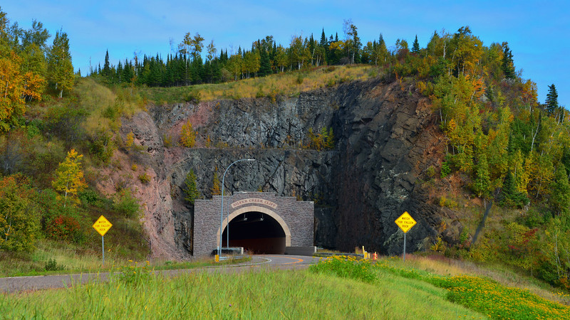 Silver Creek Cliff tunnel