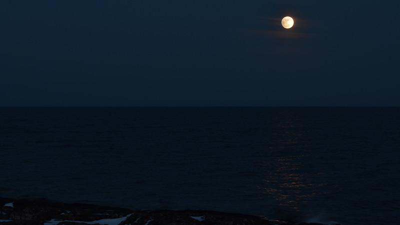 Lake Superior Moon