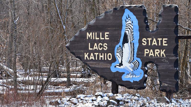 Snowy Kathio Sign