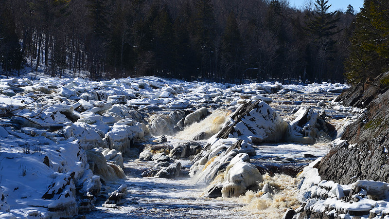 Jay Cooke State Park waterfall