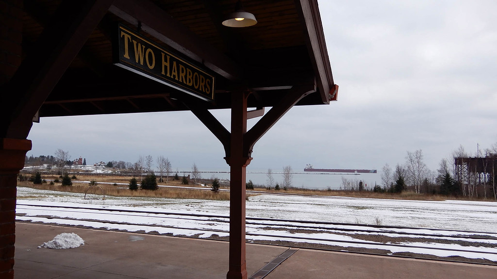View from the Depot