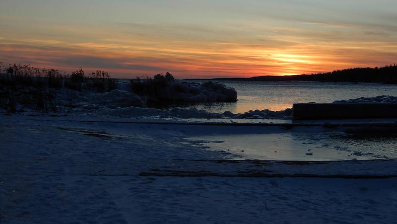 Sunset @ Agate Bay